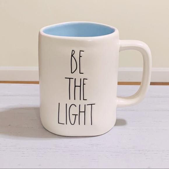 Rae Dunn BE THE LIGHT mug